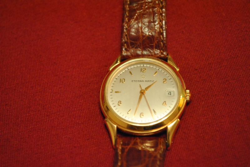 Náramkové hodinky ETERNA MATIC - burza starožitností ... 22a106d2a9